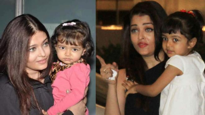 Aaradhaya Bachchan Wallpaper Pics Photos With Mother Aishwarya Rai