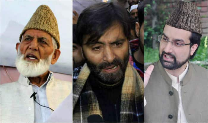 Image result for Gilani, Mirwaiz Put under House Arrest, Malik Arrested.