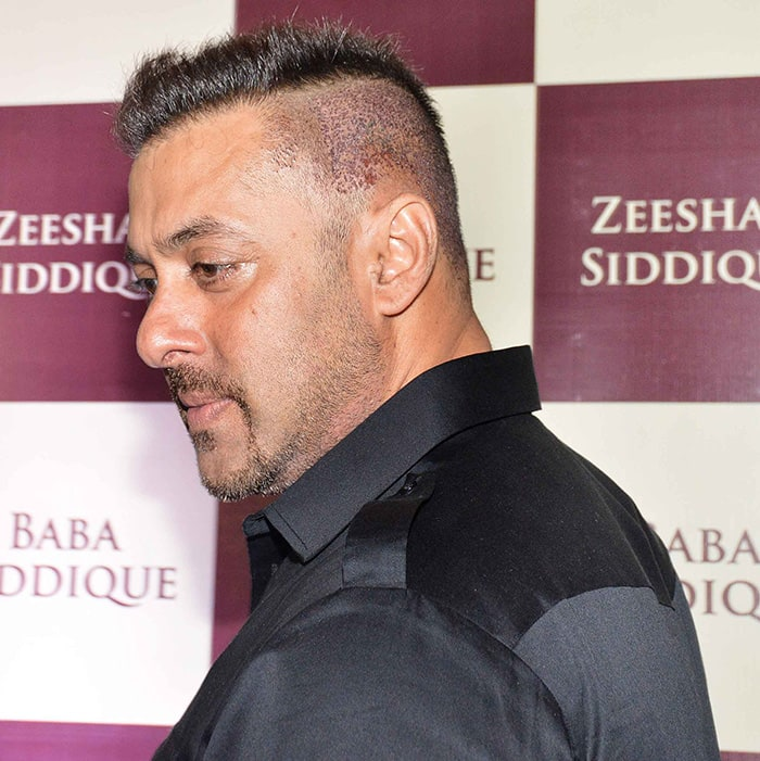 Baba Siddiques Iftar Party Salman Khan Surprises With