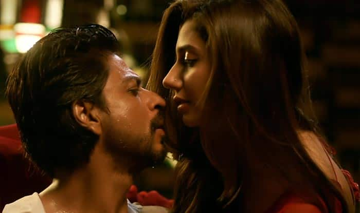 Image result for shahrukh mahira raees