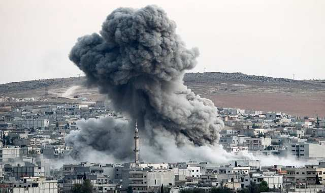 Image result for Attack on Syria