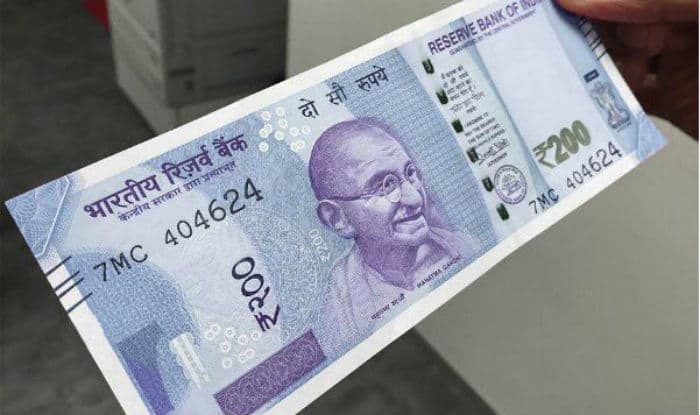 Rs 200 note picture real fake