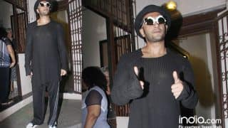 Padmavati Or No Padmavati, Ranveer Singh Continues To Make Heads Turn With His Weird Fashion Sense - View Pics