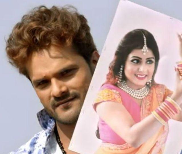 Bhojpuri Hot Couple Khesari Lal Yadav Priyanka Singhs Sensuous Moves In Video Camera Wala Song
