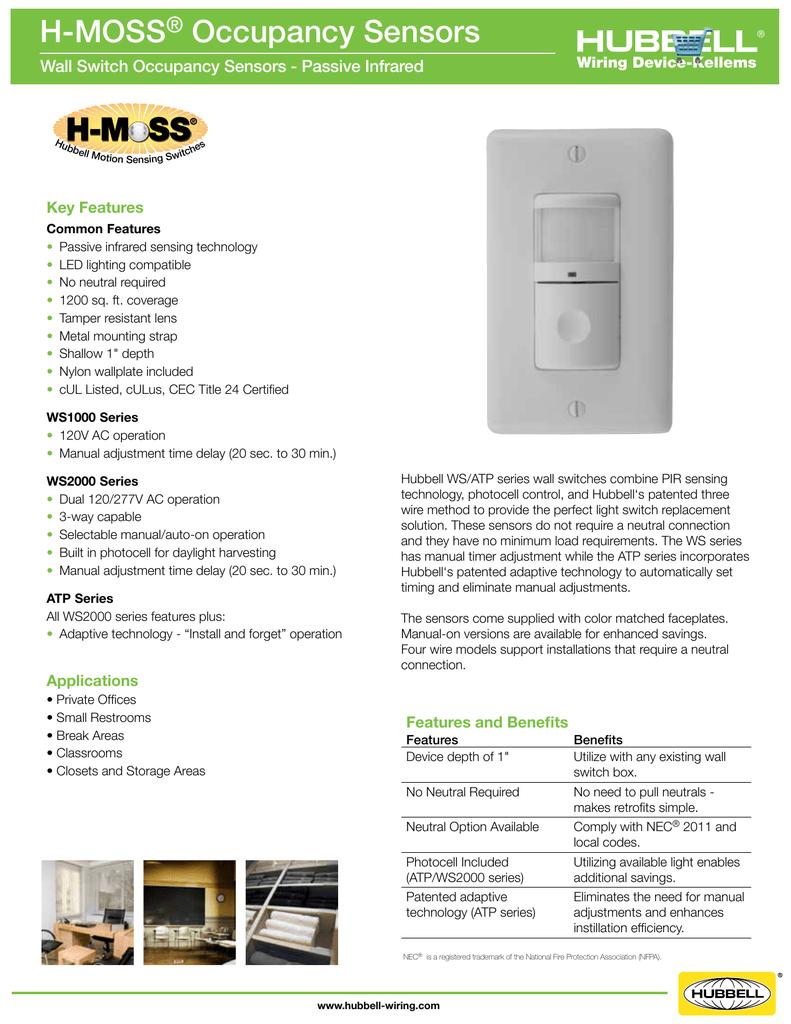 Lutron Occupancy Sensor Manual Double Switch Wiring Diagram