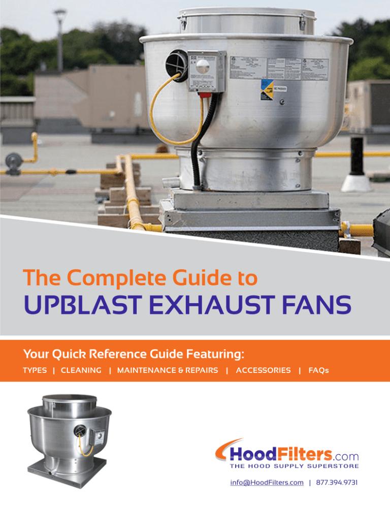upblast exhaust fans
