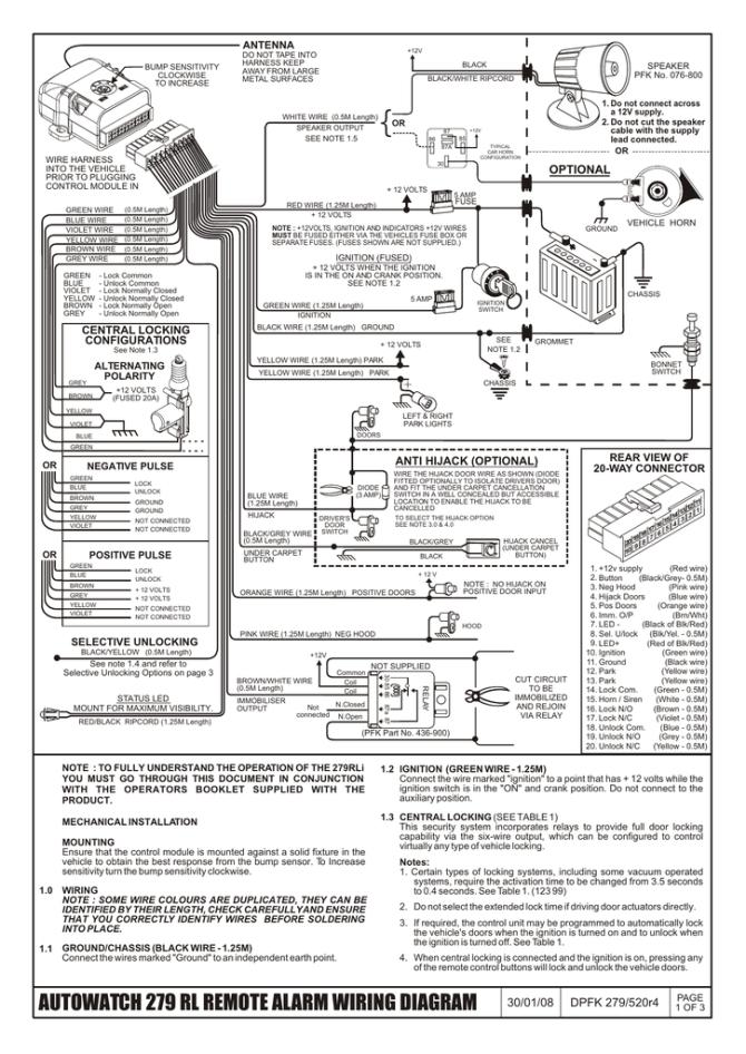 auto watch immobiliser wiring diagram  schematic wiring