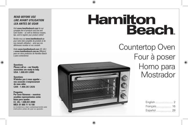 hamilton beach 31108 user guide manualzz