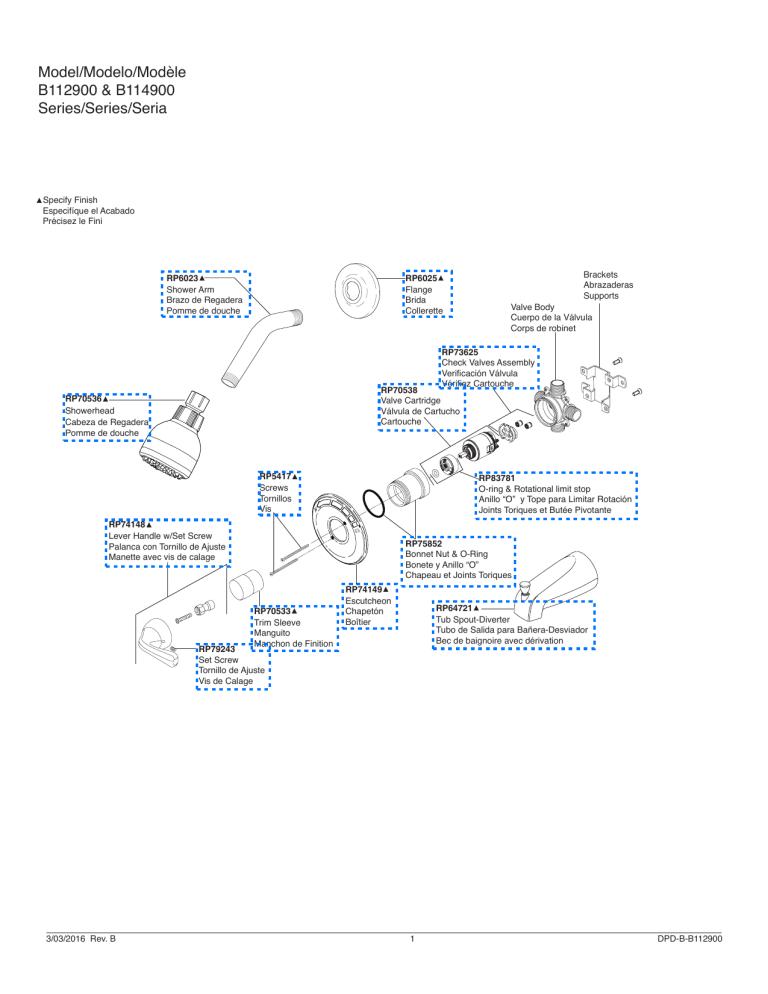 delta b114900c product information