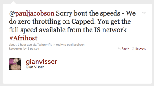 Gian Visser tweet about capped throttling.png