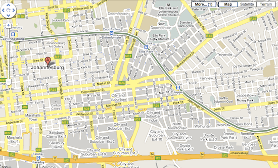 Transit layer on Google Maps.png