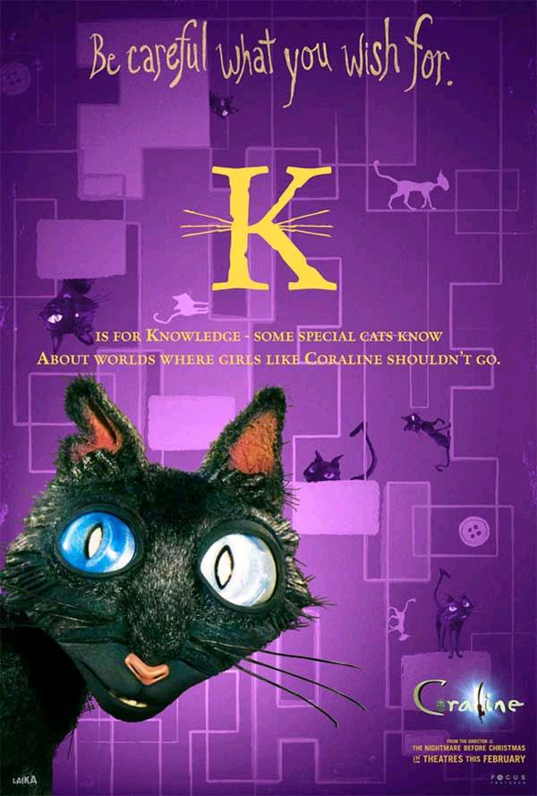 All The Coraline Alphabet Movie Posters GeekTyrant