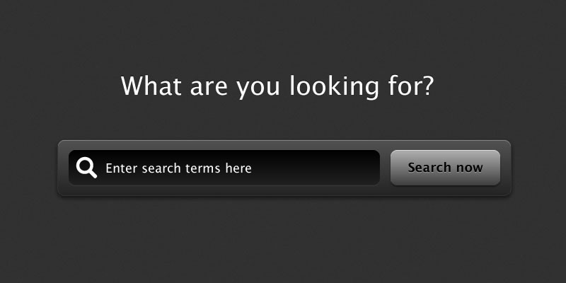 How To Create A Sleek Oversized Search Bar In Fireworks