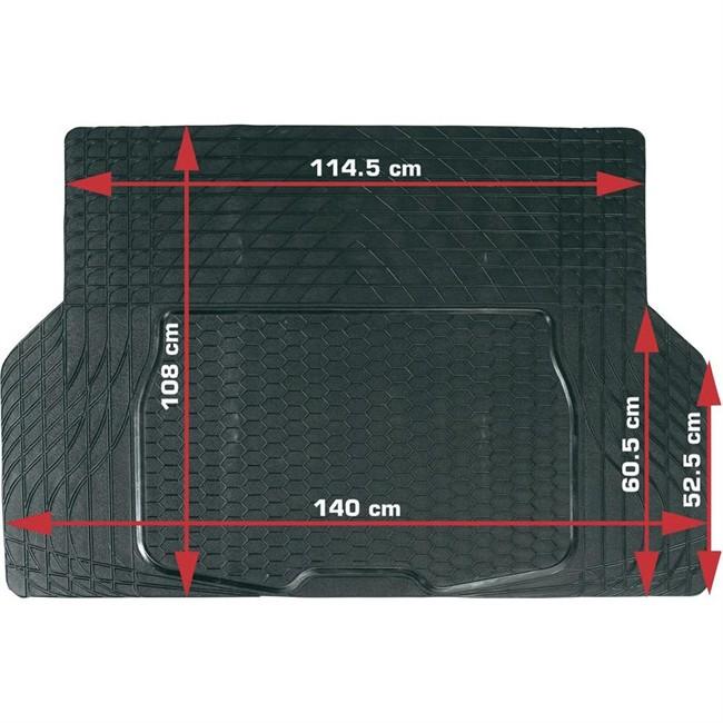 tapis tapis de coffre universels tapis de coffre en caoutchouc decoupable norauto 140 x 108 cmdescription