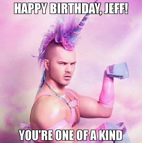 Happy Birthday Jeff Meme Memeshappen