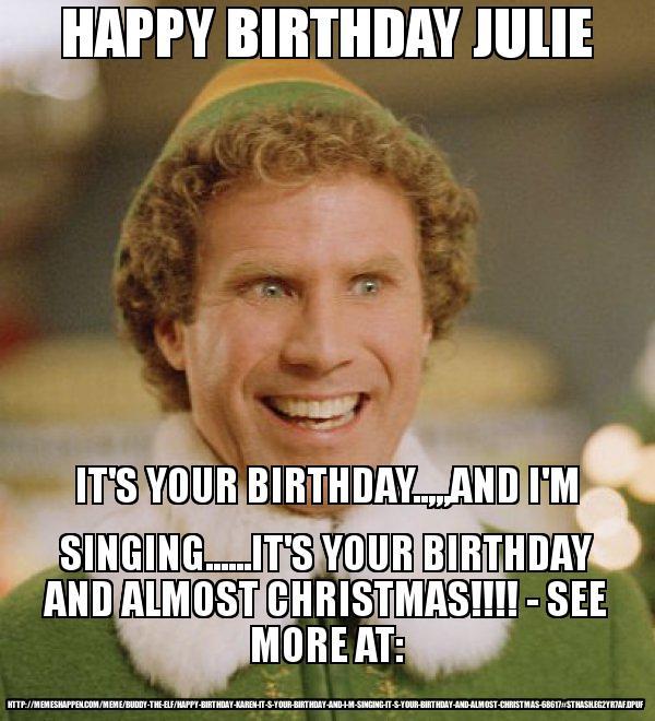 Happy Birthday Julie Meme Memeshappen
