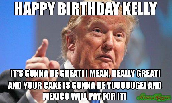 Happy Birthday Kelly Meme Memeshappen