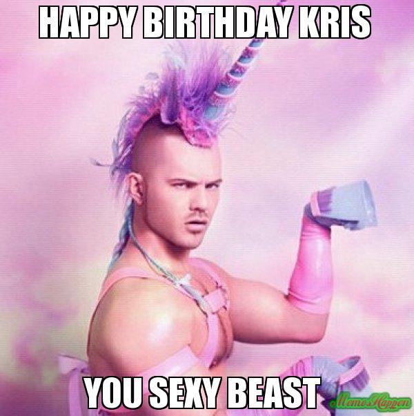 Happy Birthday Kris Meme Memeshappen