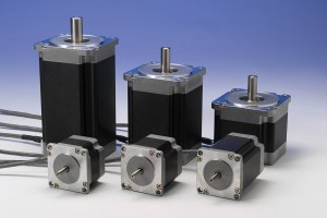 stepper motors of various lengths