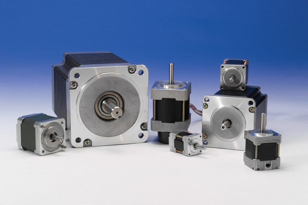 stepper motors from NEMA 8 to NEMA 42 and beyond