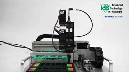 High-Speed 4-axis Pick and Place Unit DEMO