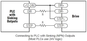 connecting-to-PLC-with-sinking-outputs