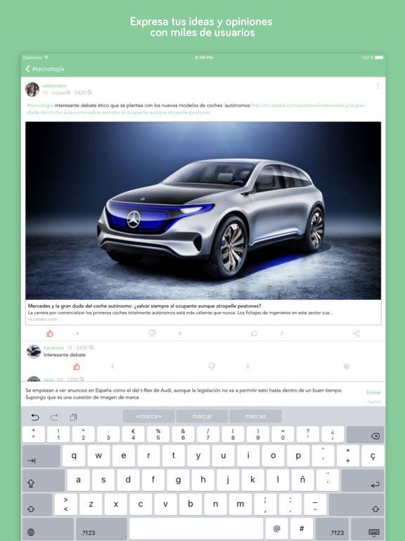 Topic - Exprésate Screenshot