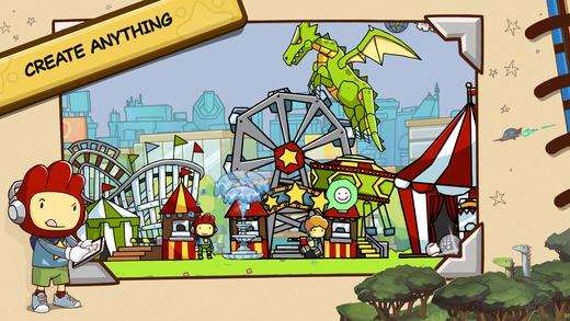 Scribblenauts Unlimited Screenshot
