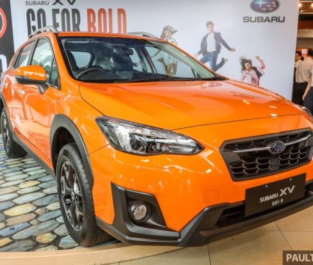 Tc Subaru Has Launched The New Subaru Xv In Malaysia The Second Generation Xv Was Revealed In Geneva And Had Its Regional Introduction In Taiwan Back In