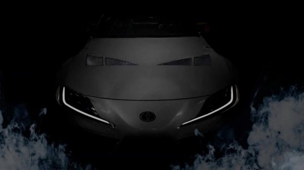 Toyota GR Supra 3000GT Concept teased for SEMA