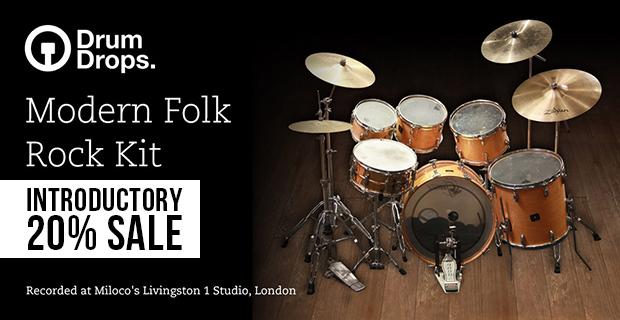 Modern folk rock kit banner pluginboutique