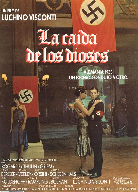 La Caída de los Dioses [La Caduta Degli Dei] (1969) - La Segunda Guerra  Mundial