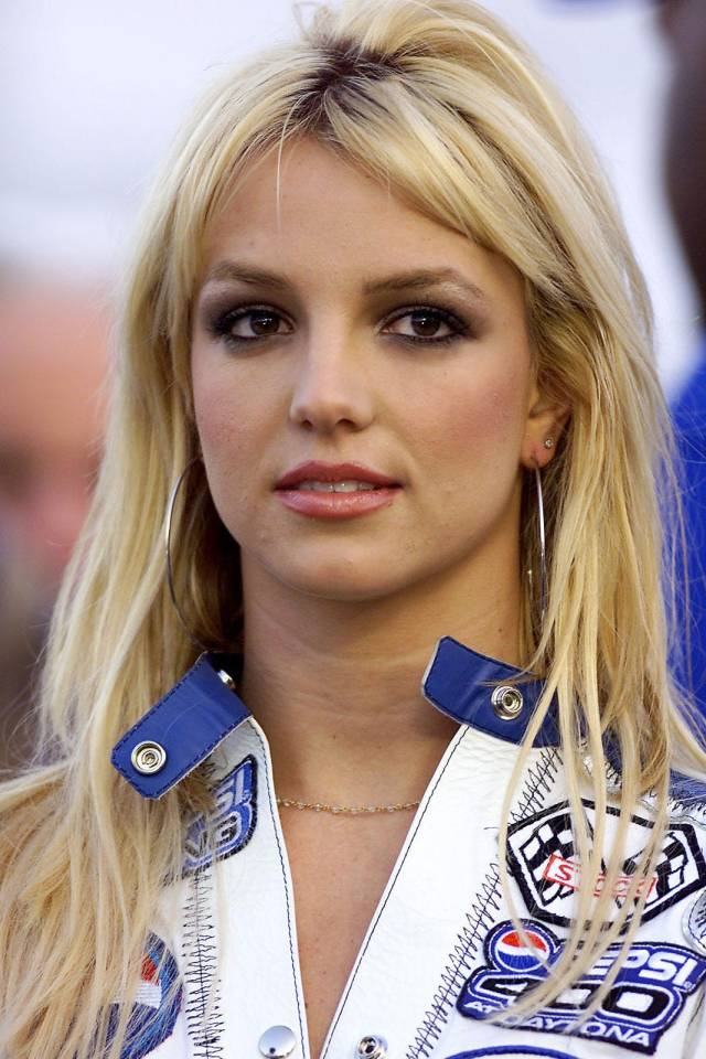 britney spears photos over the years hair makeup looks