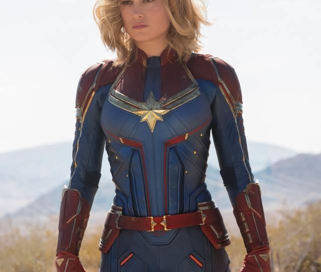 Mohawks Highlights 90s Hair Inside Brie Larsons Captain Marvel Makeover