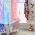 Cute Target Shower Curtains Budget Bathroom Makeover