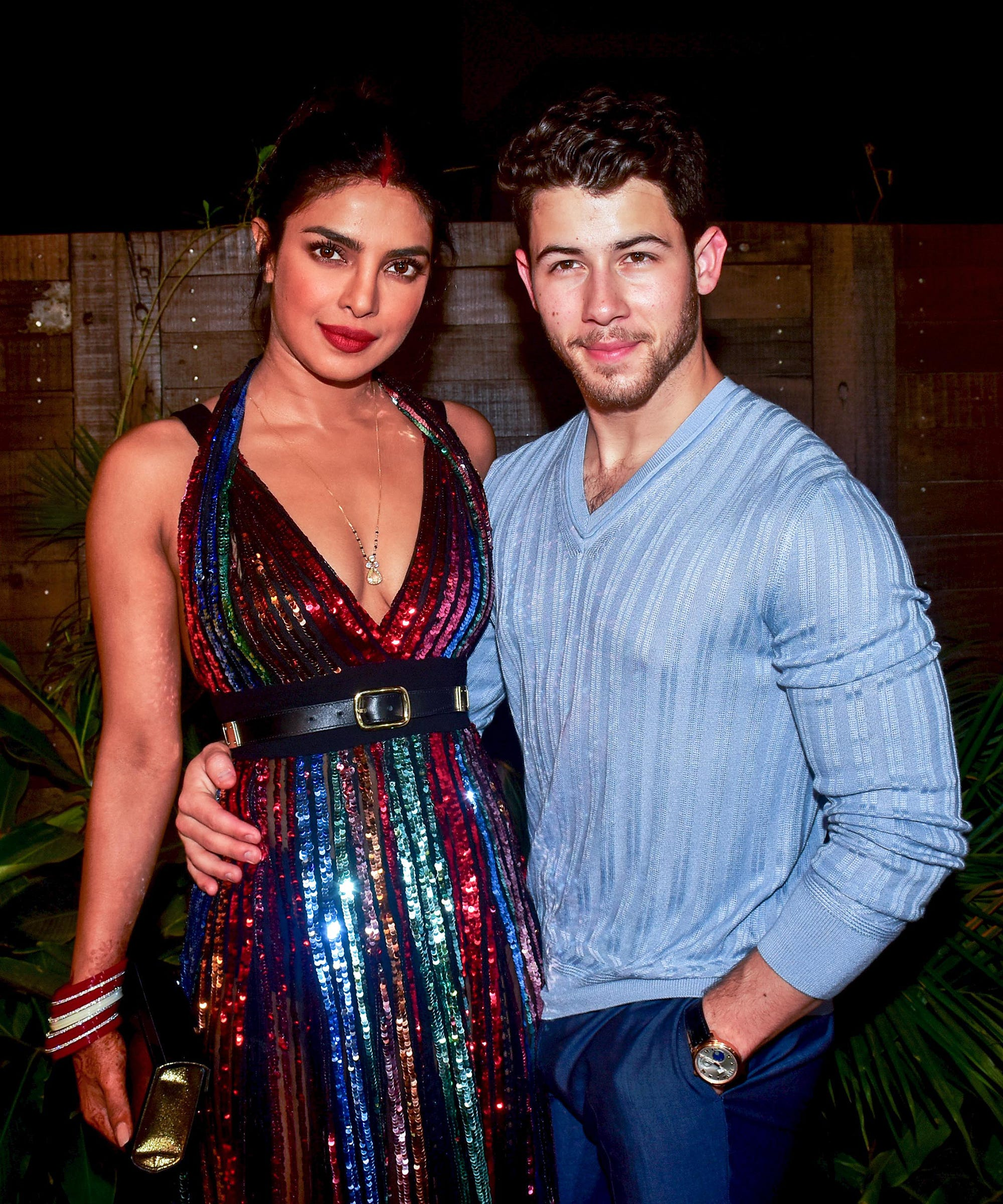 Nick Jonas Priyanka Chopra Second Wedding Reception