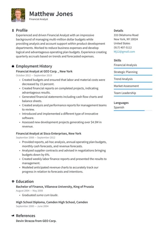 How to write a resume - Your top writing guide · Resume.io