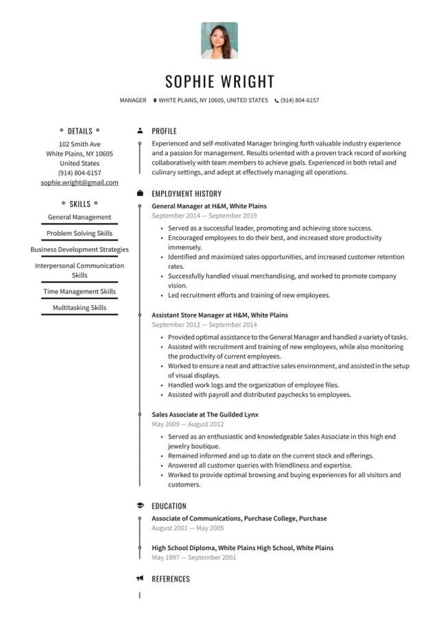 Online Resume builder to help you land the job (try for free)