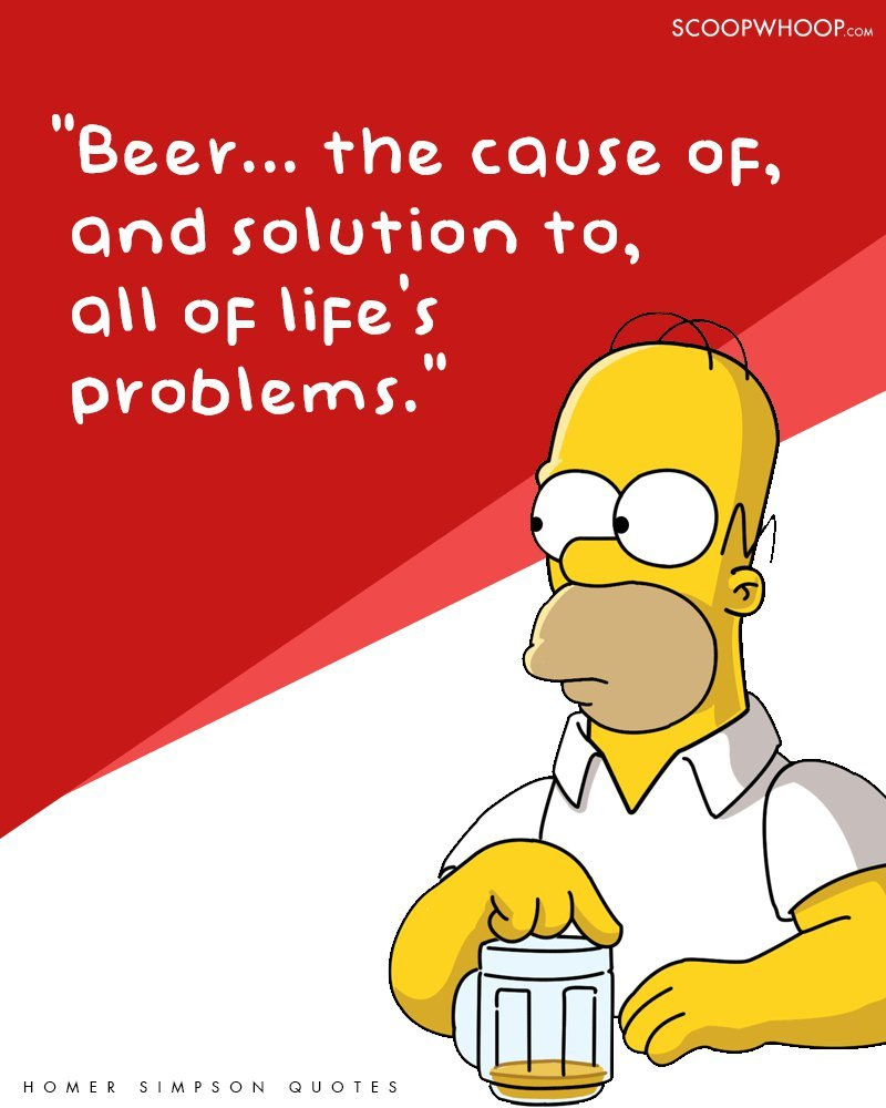 Homer Simpson Shareable Quotes