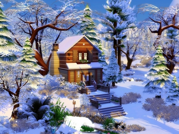 Chalet Cabane By Studiosimscreation The Sims 4 Download Simsdomination