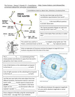 Student Exploration: HR Diagram
