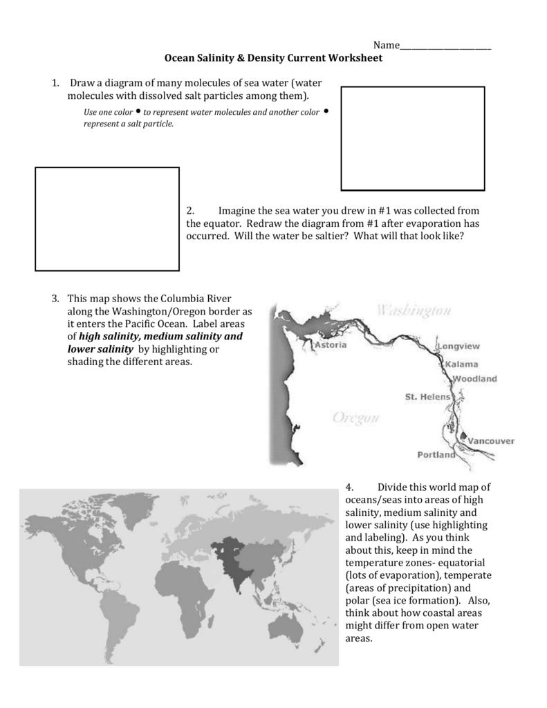 Ocean Surface Currents Worksheet 4k Pictures 4k Pictures Full