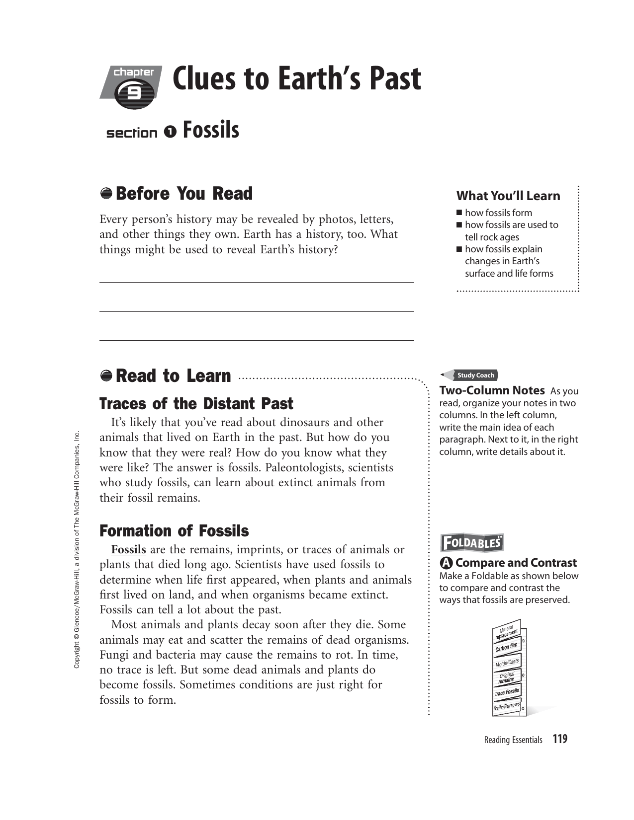 Glencoe Earth Science Chapter 9 Review Answers