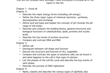 anatomy and physiology final exam questions » Free Professional ...