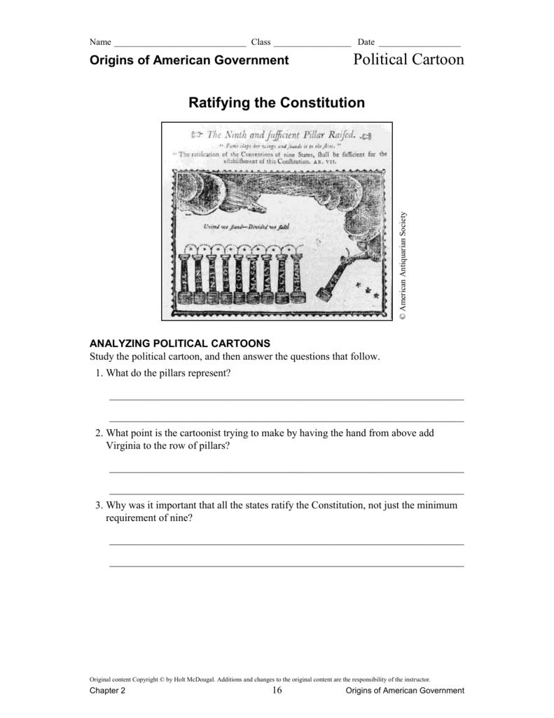 Worksheet Ratifying The Constitution Worksheet Grass