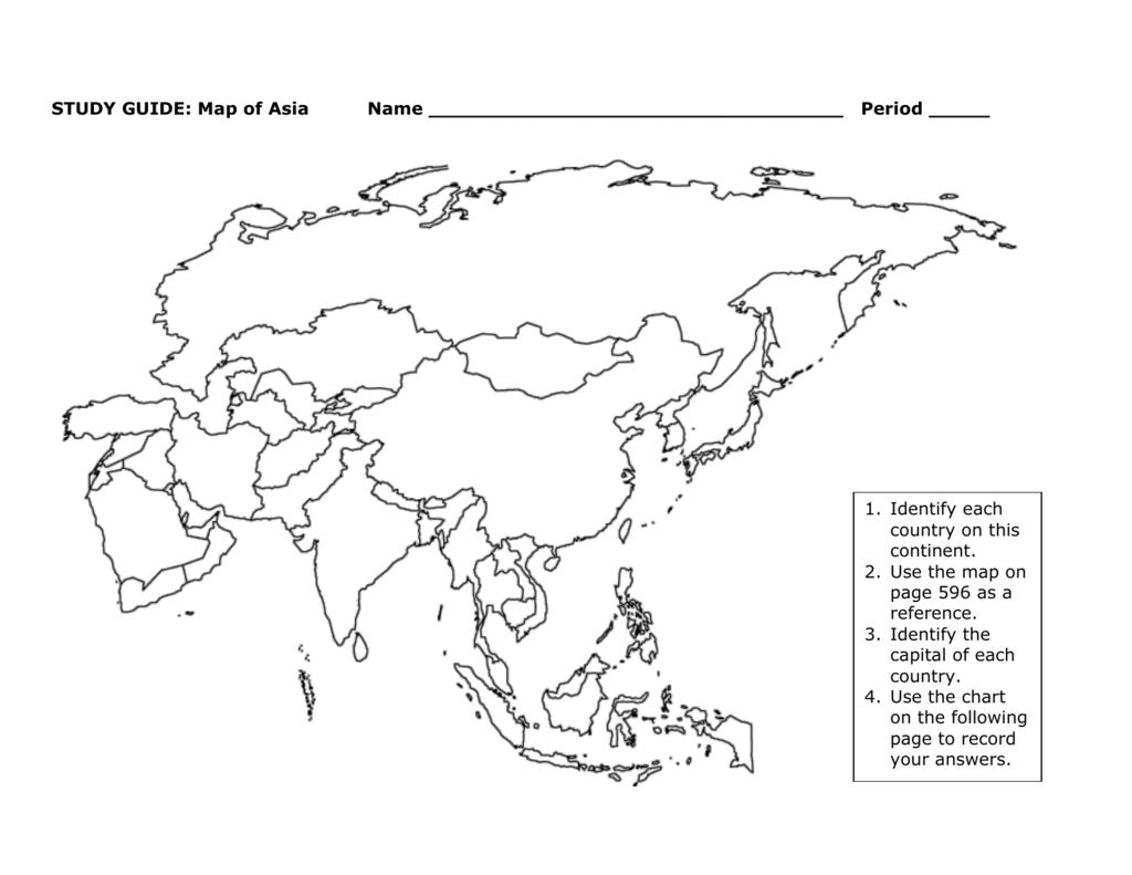 Ural Mountains Map