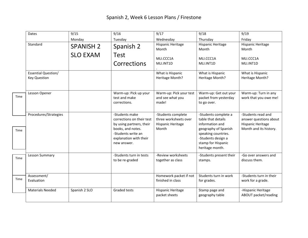 Spanish Speaking Countries Worksheet Answers