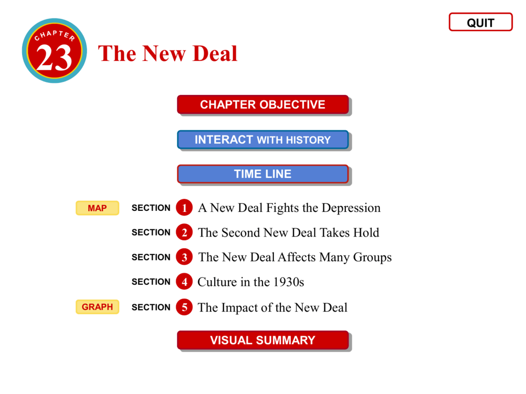 The Impact Of The New Deal The Second New Deal 01 27