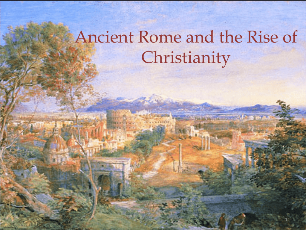 Rome And The Rise Of Christianity Worksheet Answers
