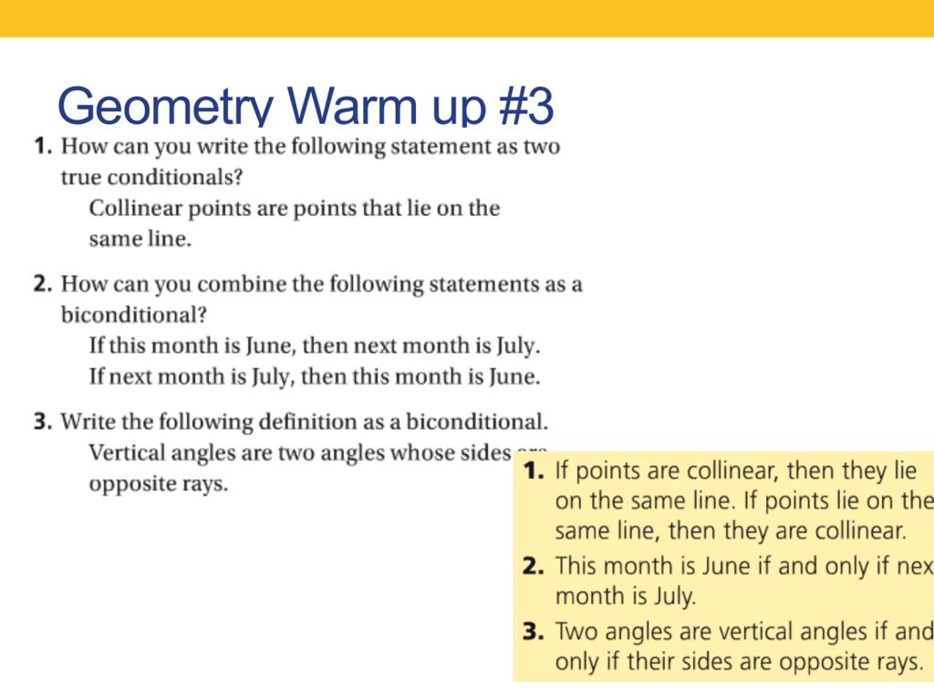 2 5 Reasoning In Algebra Amp Geometry